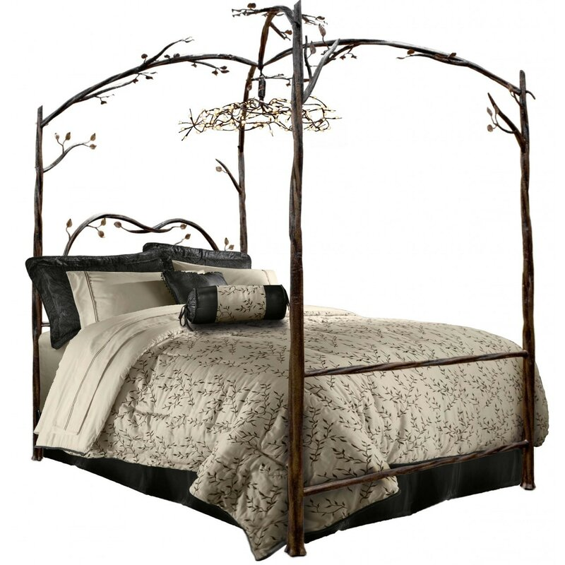 Fleur De Lis Living Reynal Canopy Bed