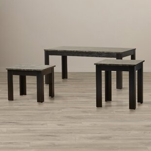 Charlton Home Hagins 3 Piece Coffee Table Set