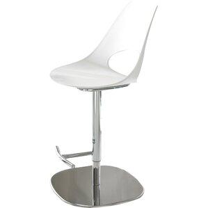 Shark Adjustable Height Swivel Bar Stool by Bontempi Casa