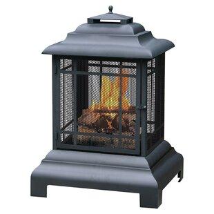 Uniflame Corporation Metal Wood Burning Pagoda