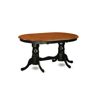 Pilcher Extendable Solid Wood Dining Table