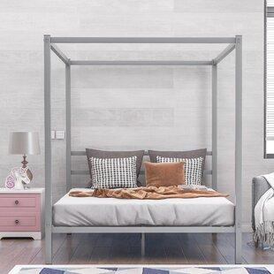 Albulena Queen Canopy Bed