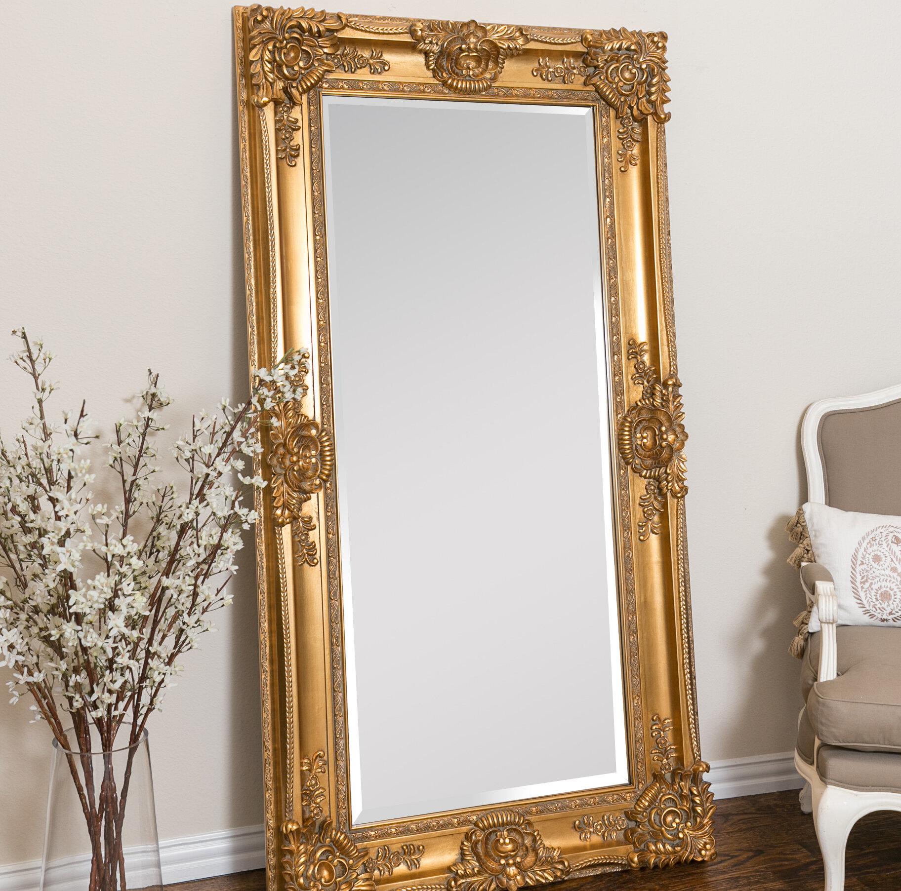 Leaner Beveled Full Length Mirror