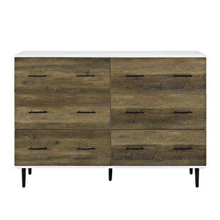 Marc Reclaimed 6 Drawer Double Dresser