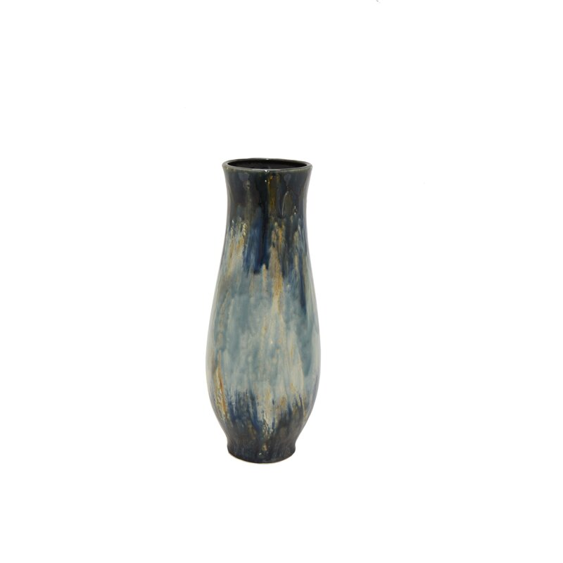 Bloomsbury Market Modern Hand Painted Ceramic Table Vase Wayfair