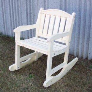 Prairie Leisure Design Garden Rocking Chair