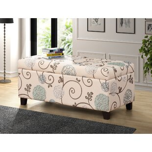 Charlton Home Luro Upholstered Storage Bench