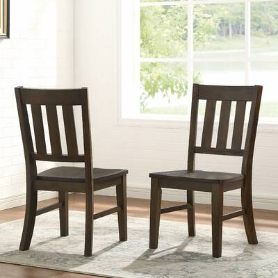 Ebern Designs Taylor Solid Wood Dining Chair Wayfair