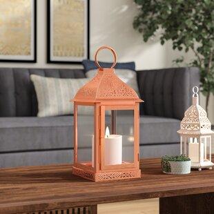 Metal/Glass Lantern by Bun..