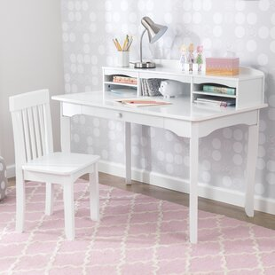 Admirable Avalon Kids Study Desk And Chair Set With Kids Hutch Machost Co Dining Chair Design Ideas Machostcouk