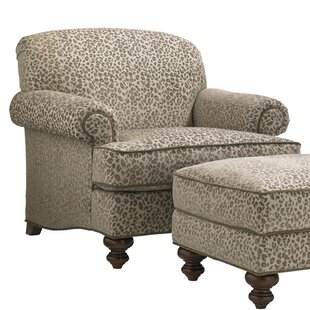 Coventry Hills Asbury Armchair and Ottoman