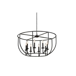 McGregor Casual Luxury 8-Light Geometric Chandelier by Breakwater Bay