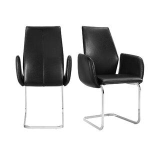 Orren Ellis Dyson Upholstered Dining Chair (Set of 2)
