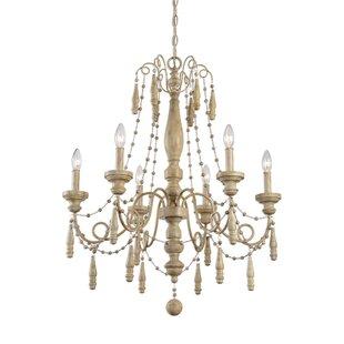 Ophelia & Co. Kiersten 6-Light Chandelier