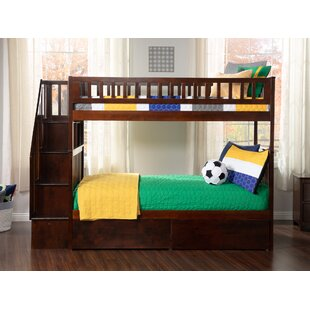 Shyann Twin over Twin Bunk Bed with Storage by Viv + Rae