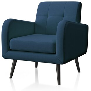 Marilou Linen Fabric Armchair by George Oliver