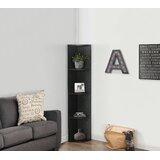Andriejus 60 H x 10.5 W Corner Bookcase by Ebern Designs