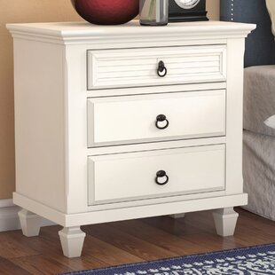 Wheaton 3 Drawer Nightstand