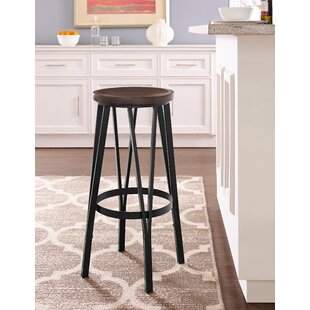 Andera Adjustable Height Bar Stool Williston Forge