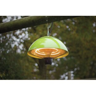 Dominick Hanging Electric Patio Heater By Belfry Heating