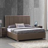 Spiller Split Line Upholstered Platform Bed by Brayden Studio®