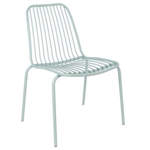 Lineate Stacking Garden Chair (Set Of 2) By Leitmotiv