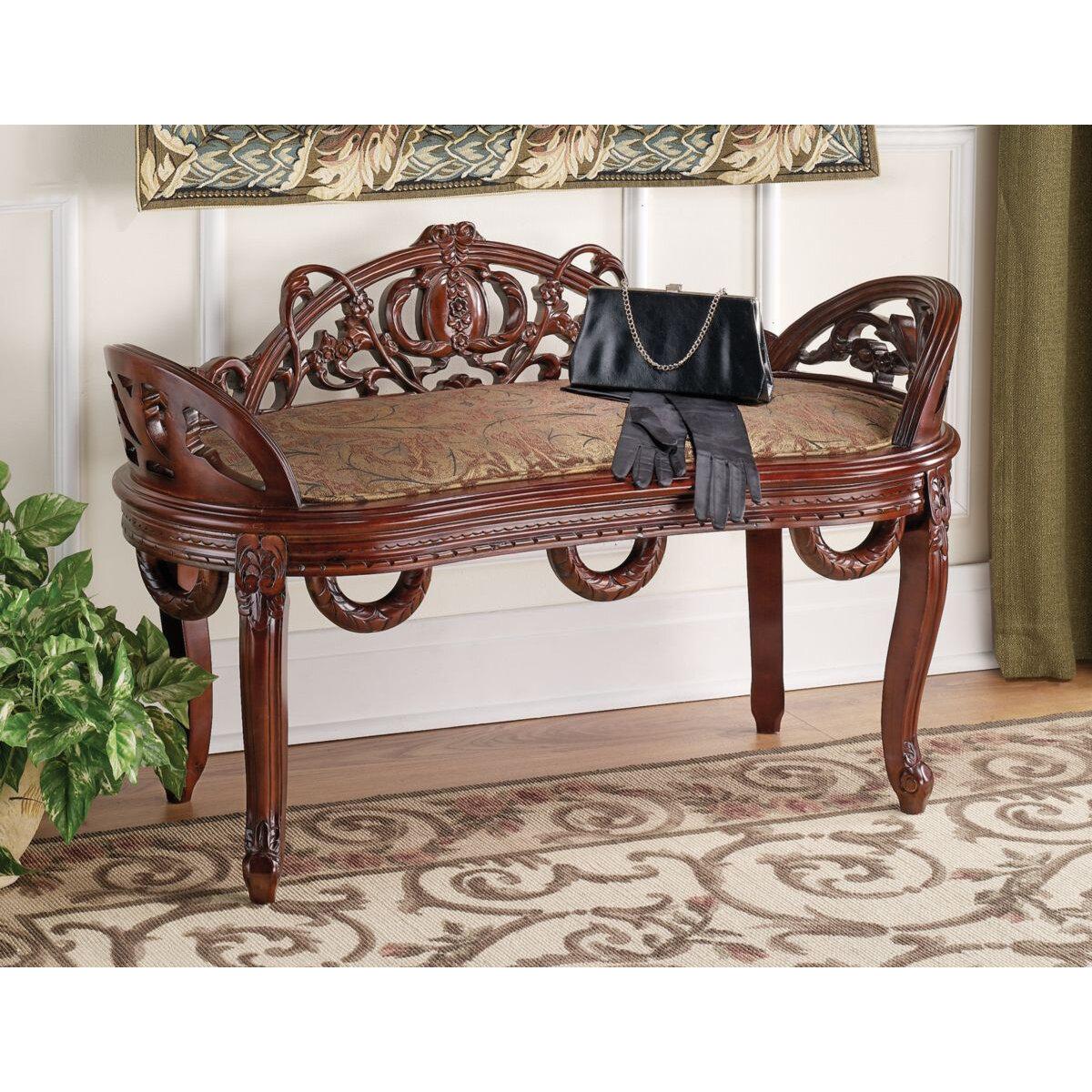 Astounding Constance Filigree Wood Garden Bench Uwap Interior Chair Design Uwaporg