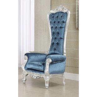 Bon Royal Blue Chair   Wayfair