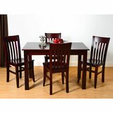 Kennerson 5 Piece Solid Wood Dining Set by Alcott Hill®
