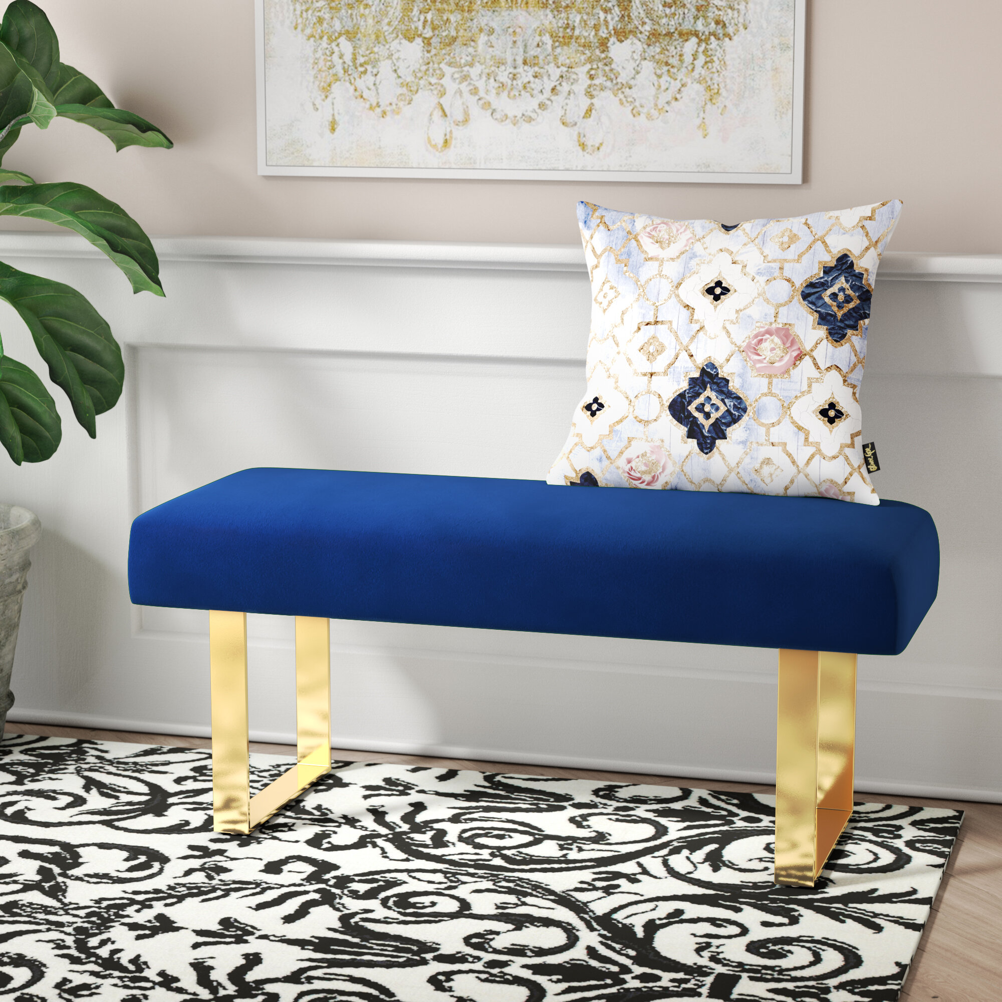 Fantastic Willa Arlo Interiors Kato Bench Reviews Wayfair Pdpeps Interior Chair Design Pdpepsorg