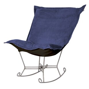 Azaria Scroll Rocking Chair Red Barrel Studio