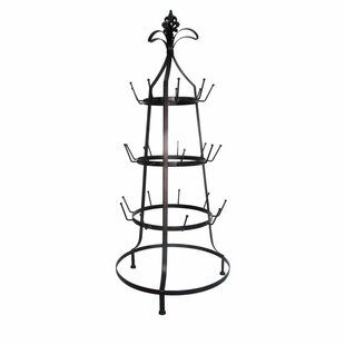 Red Barrel Studio Hartfo Three-Tier Metal Cup Rack Mug Tree