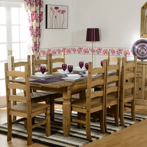 Corona Dining Set With 6 Chairs
