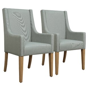 Read Reviews Tighe Seafoam Upholstered Dining Chair (Set of 2) by Ophelia & Co. Reviews (2019) & Buyer's Guide
