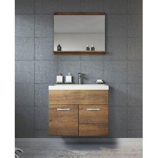 Jaelyn 600mm Wall Hung Single Vanity Unit By Belfry Bathroom