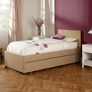 Lily Single Upholstered Bed Frame By Mercury Row