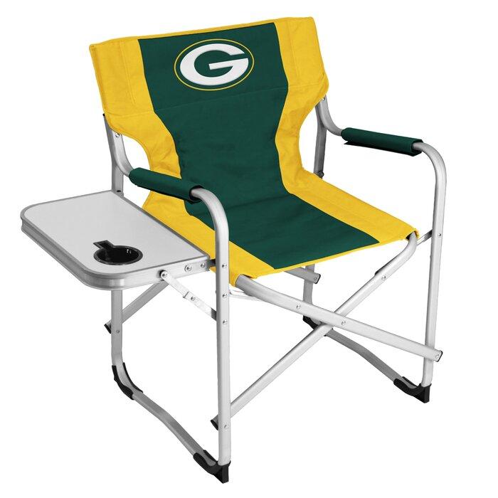 Surprising Green Bay Packers Alumni Folding Camping Chair Machost Co Dining Chair Design Ideas Machostcouk