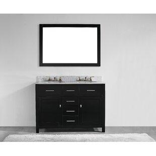 48 inch vanity double sink. Save to Idea Board  Sverre 48 Double Bathroom Vanity Farmhouse Rustic Vanities Birch Lane