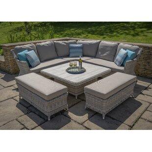 Ridgemoor 9 Seater Rattan Corner Sofa Set Image