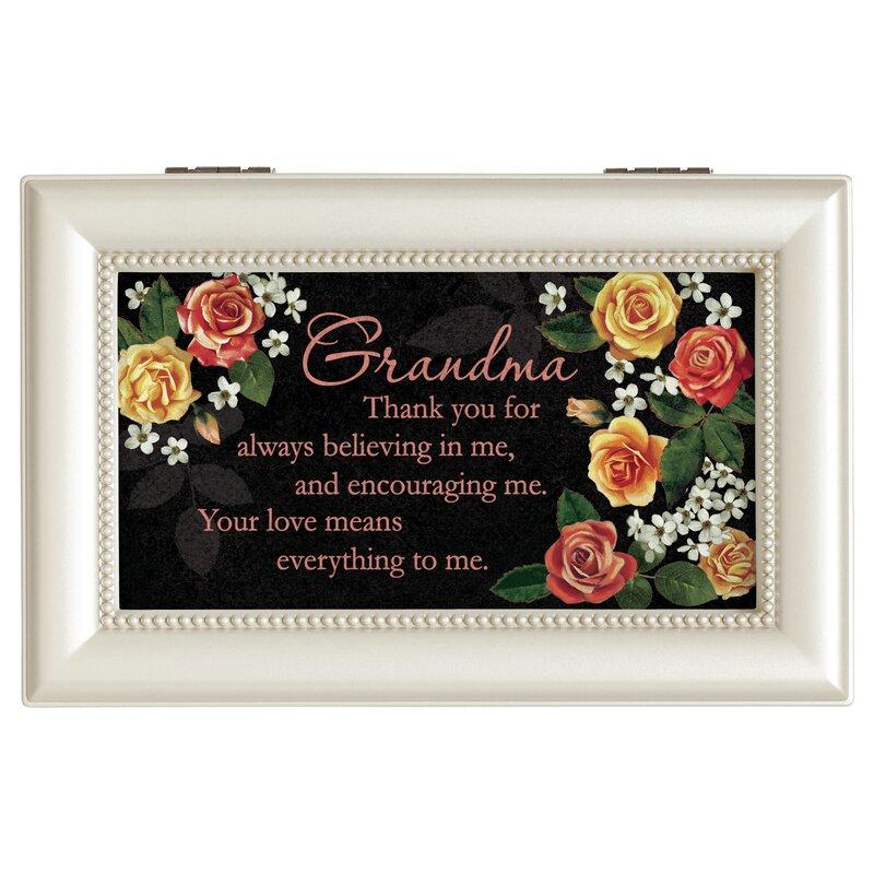 Carson Home Accents Thank You Grandma Decorative Box Wayfair