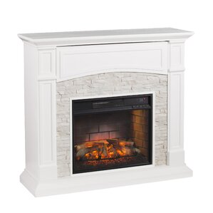 Cameron Infrared Media Electric Fireplace by Beachcrest Home