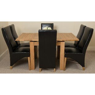 Review Kenia Dining Set With 6 Chairs