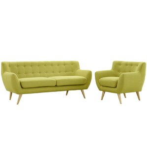 Yellow Living Room Sets You\'ll Love | Wayfair