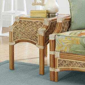 Mauna Loa End Table by Spice Islands Wicker