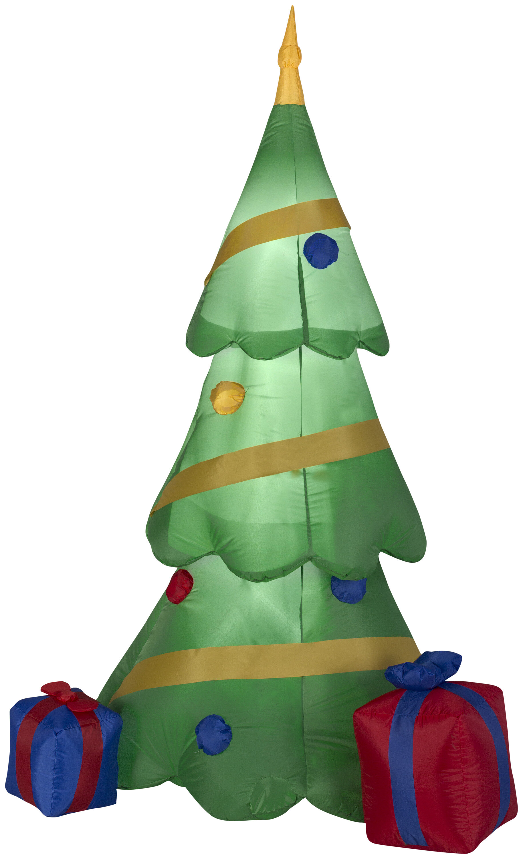 The Holiday Aisle Christmas Tree With Gift Box Oversized Figurine
