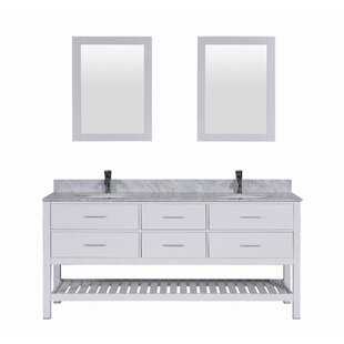 Signature Series 72 Double Bathroom Vanity Set by Belvedere Bath
