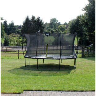 Silhouette 14' Round Trampoline With Safety Enclosure By Exit Toys