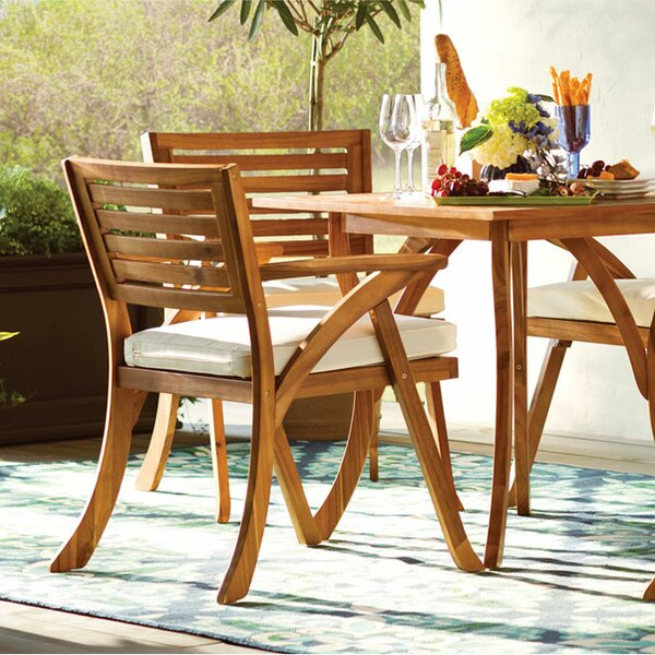 Beau Wood Patio Furniture Youu0027ll Love | Wayfair