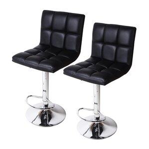 Sandidge Adjustable Height Swivel Bar Stool (Set of 2)  sc 1 st  AllModern & Modern Barstools + Counter Stools | AllModern islam-shia.org
