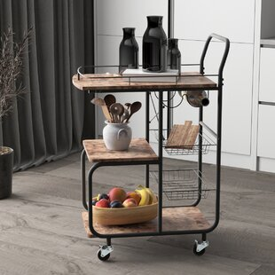 Faughil Kitchen Cart by Williston Forge